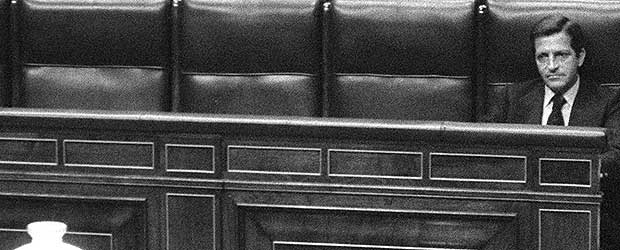Suárez sólo en el Congreso
